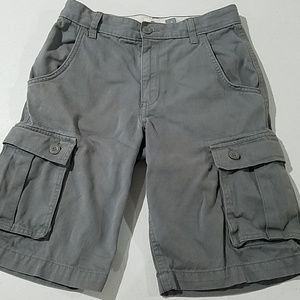 Old Navy Bottoms - Old Navy boys 12 gray cargo shorts